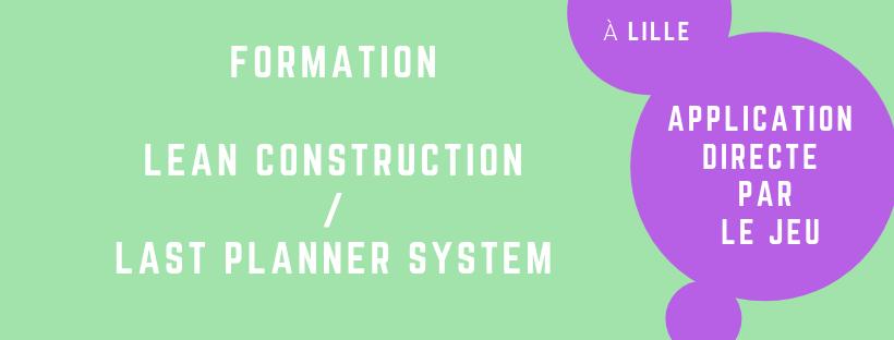 Formation last planner constrution